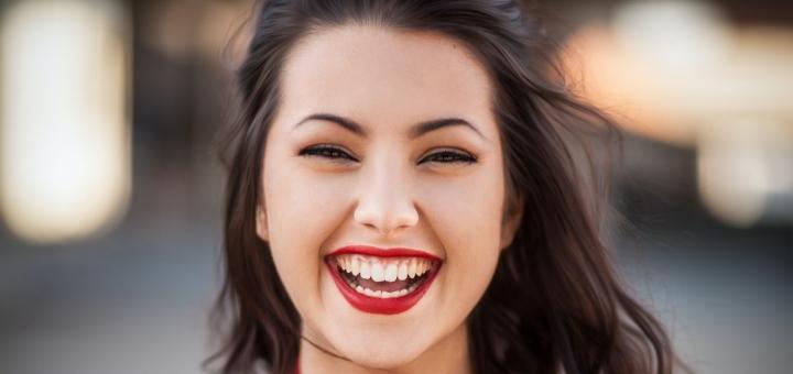 emotionally intelligent smiling girl